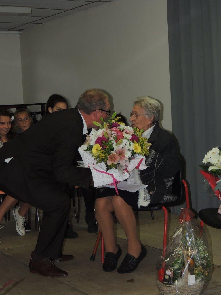 105 ans de Mme Louisa CAILLEUX