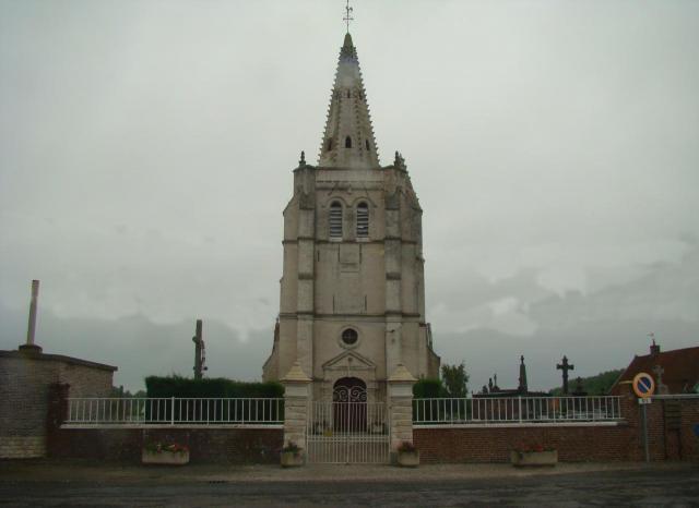 L'église Saint Léger de POLINCOVE