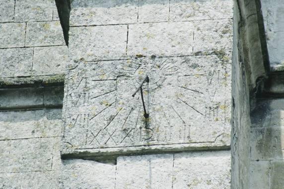 Eglise Cadran Solaire