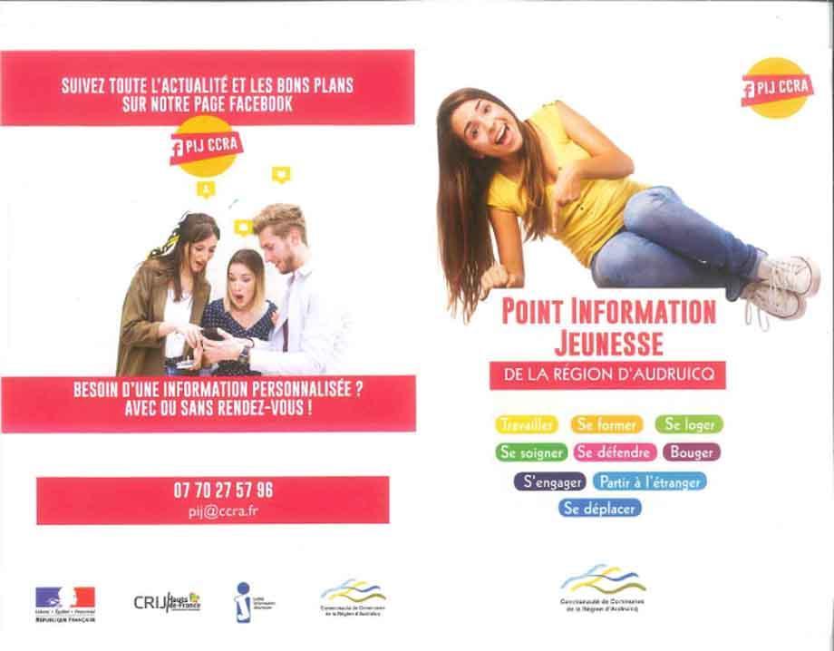 Flyer point information jeunesse 1