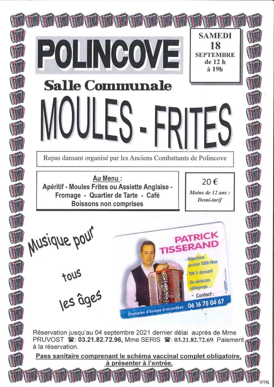 Moules frites polincove
