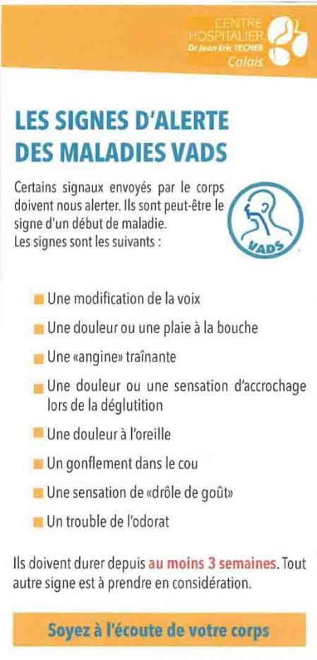 Signes d alerte des maladies vads 1