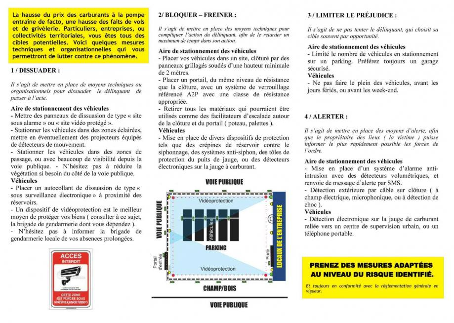 Vol carburant 2